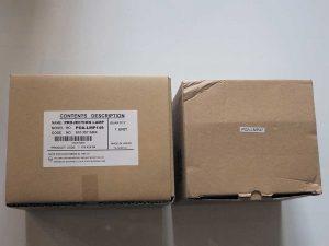 Простая упаковка из тонкого картона без оригинальной маркировки
